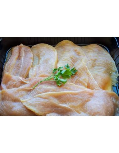 Pit de pollastre tallat
