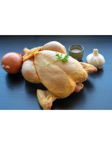 Pollo para cocinar a l'ast
