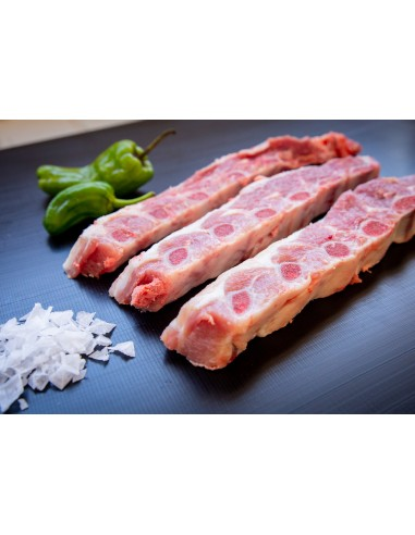 Costella de porc tallada xurrasco