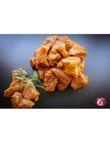 Carne adobada Curry