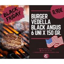Burger vedella Black Angus...