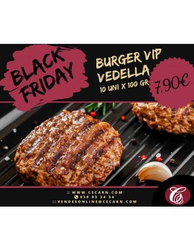 Burger VIP vedella - 10 unitats de...