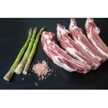 Costella de porc tallada a...